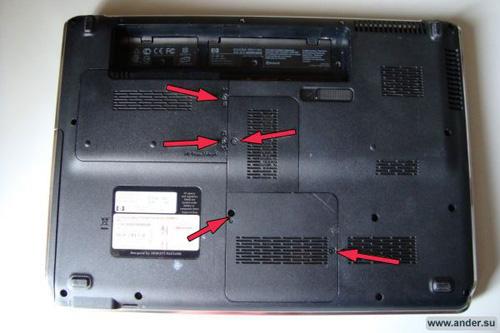 Схема разборки ноутбука hp dv 5000 Любые ваши действия по разборке ноутбука могут привести к его поломке а вот на...